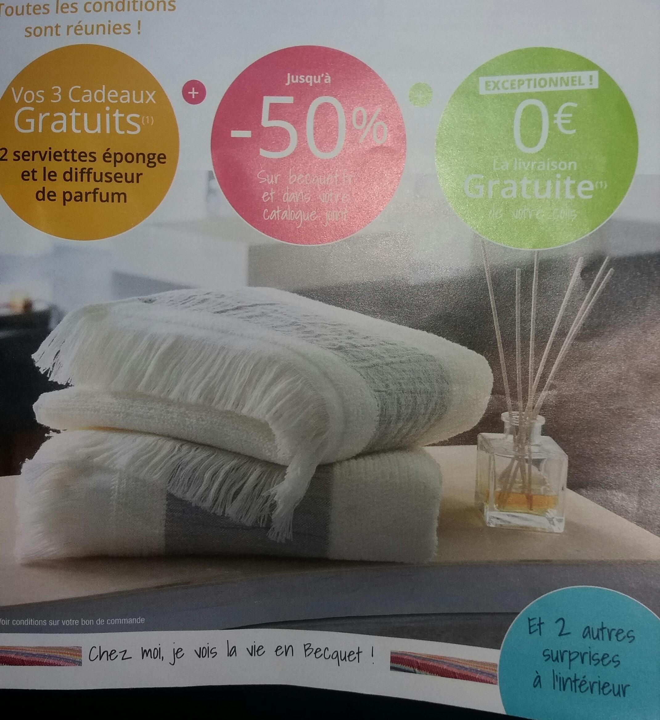 code promo becquet fpg diffuseur de parfum 2 serviettes ponge frang es. Black Bedroom Furniture Sets. Home Design Ideas