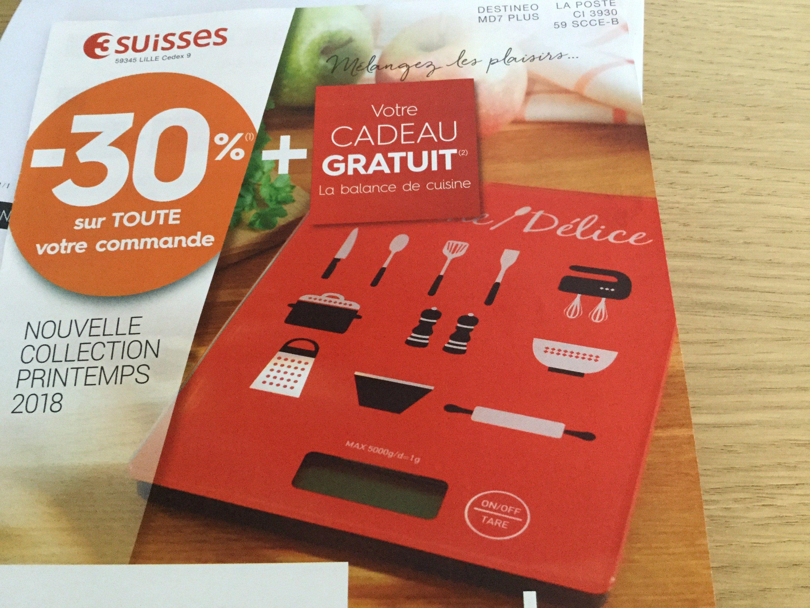 code promo - Offre courrier 3 suisses 30% toute la commande + kdo ca7fb54015e