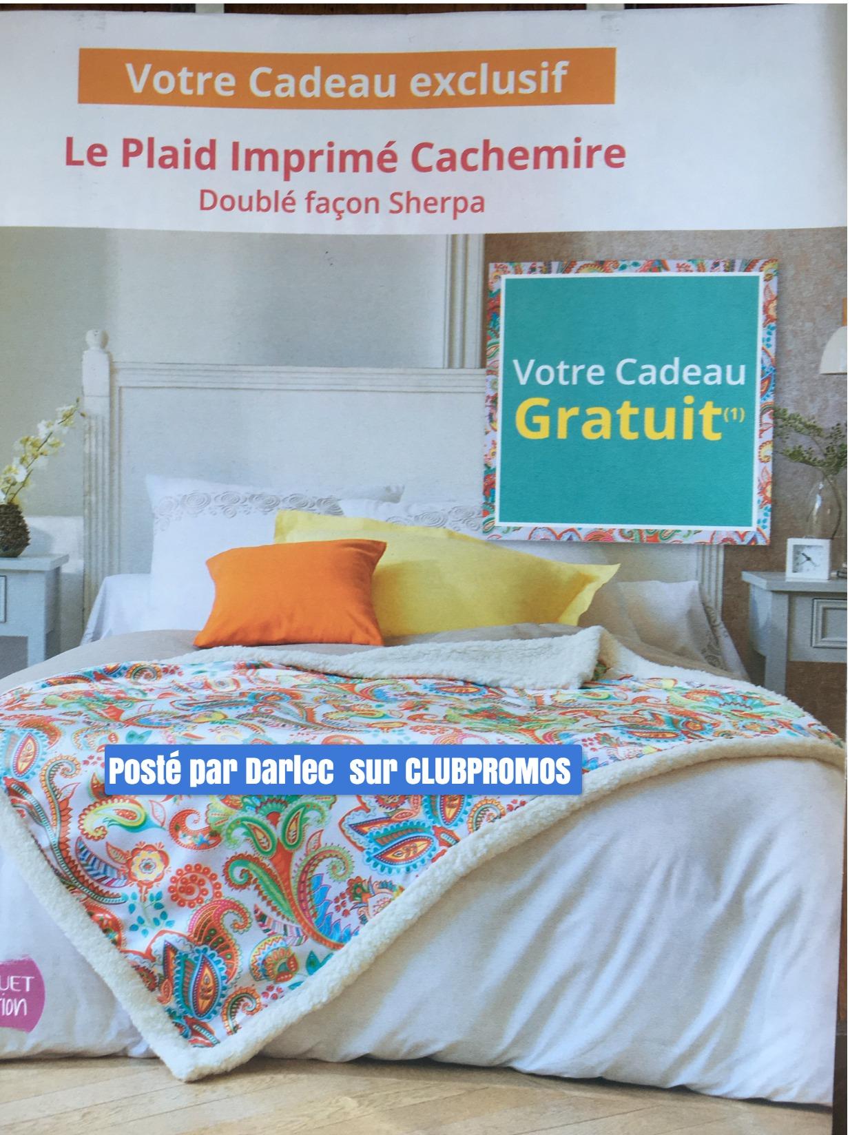 Becquet Plaid Cadeau 2019