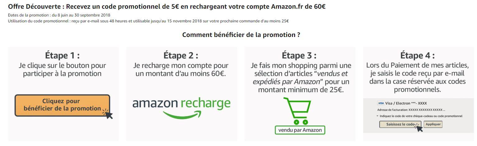 964a1d2a9121a deal - 5 euros offert en rechargeant compte Amazon de 60 euros