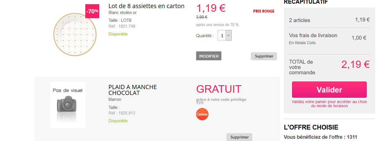 Code promo daxon cadeau le plaid manches et 20 de r duction et frais de port gratuit - Code promo 3 suisses frais de port gratuit ...