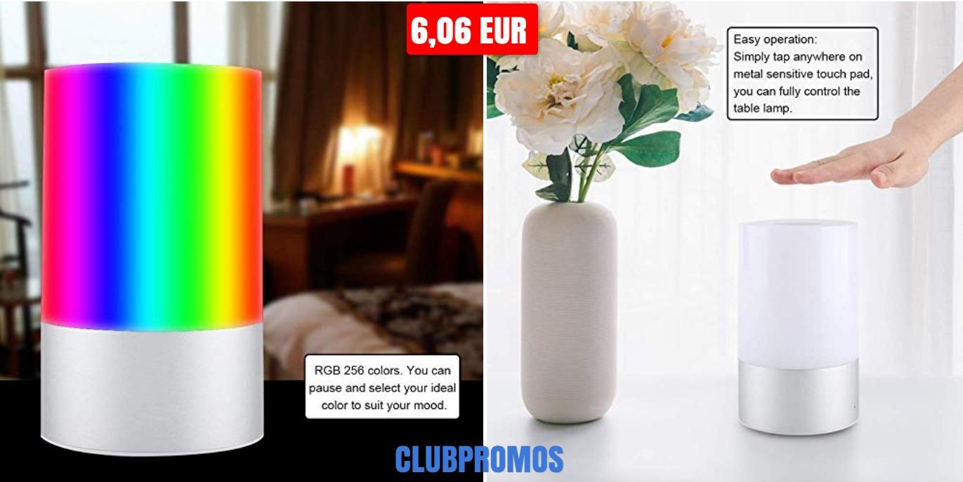 deal - Lampe LED tactile 256 couleurs FTVOGUE à 6 06 EUR sur Amazon (1).jpg