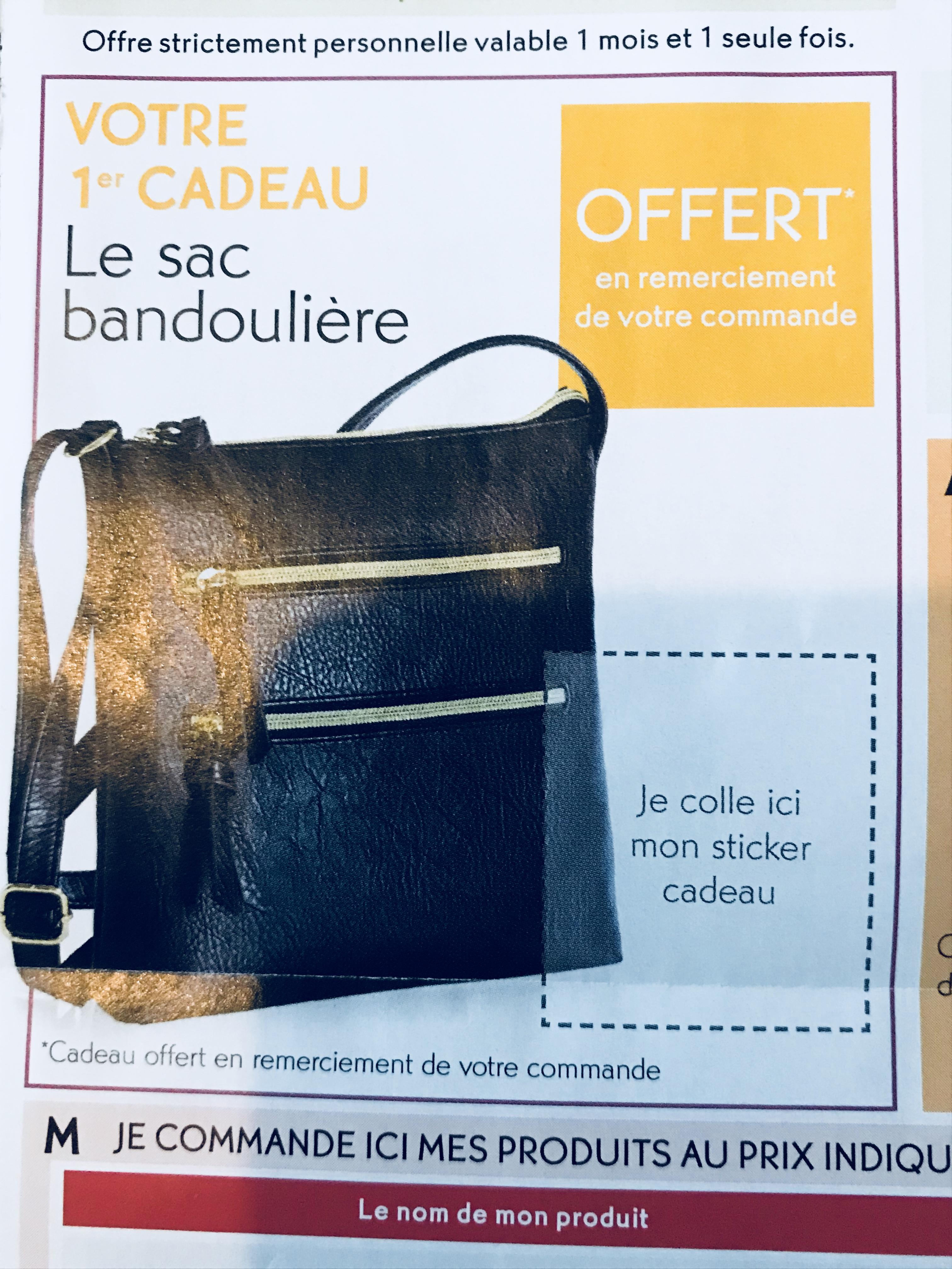 Code Promo Sac Bandoulière 2ème Cadeau Au Choix En Offre