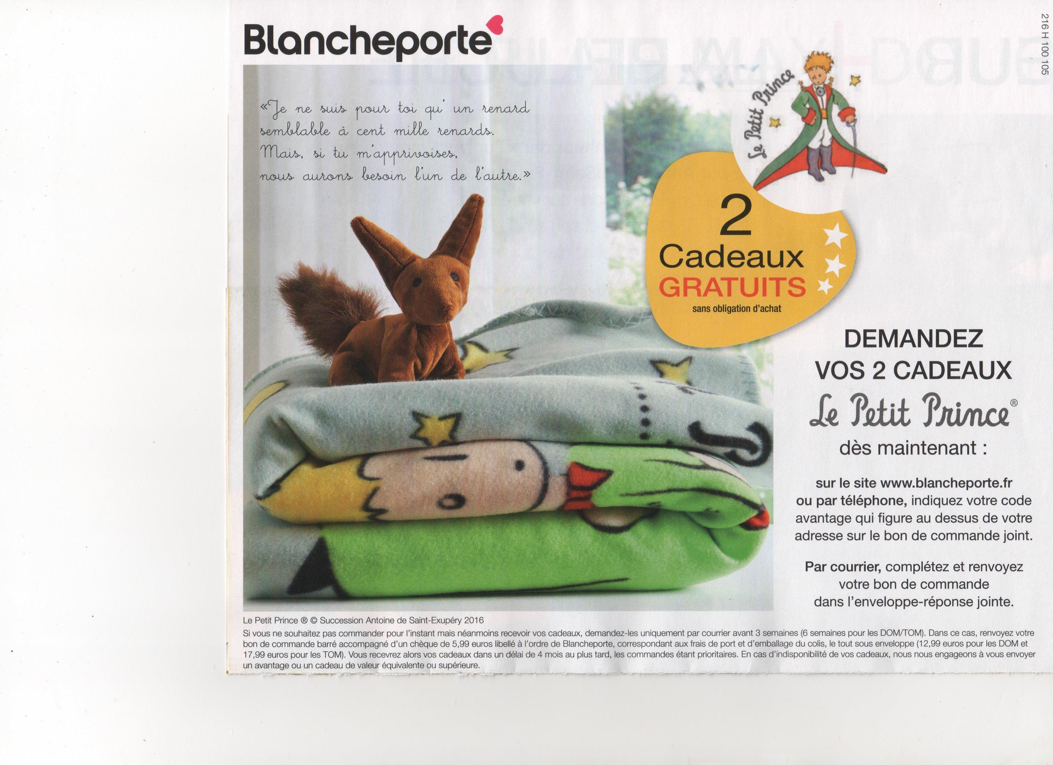 Code promo bp kdo plaid petit prince peluche fp0 - Code promo blanche porte 50 et port gratuit ...