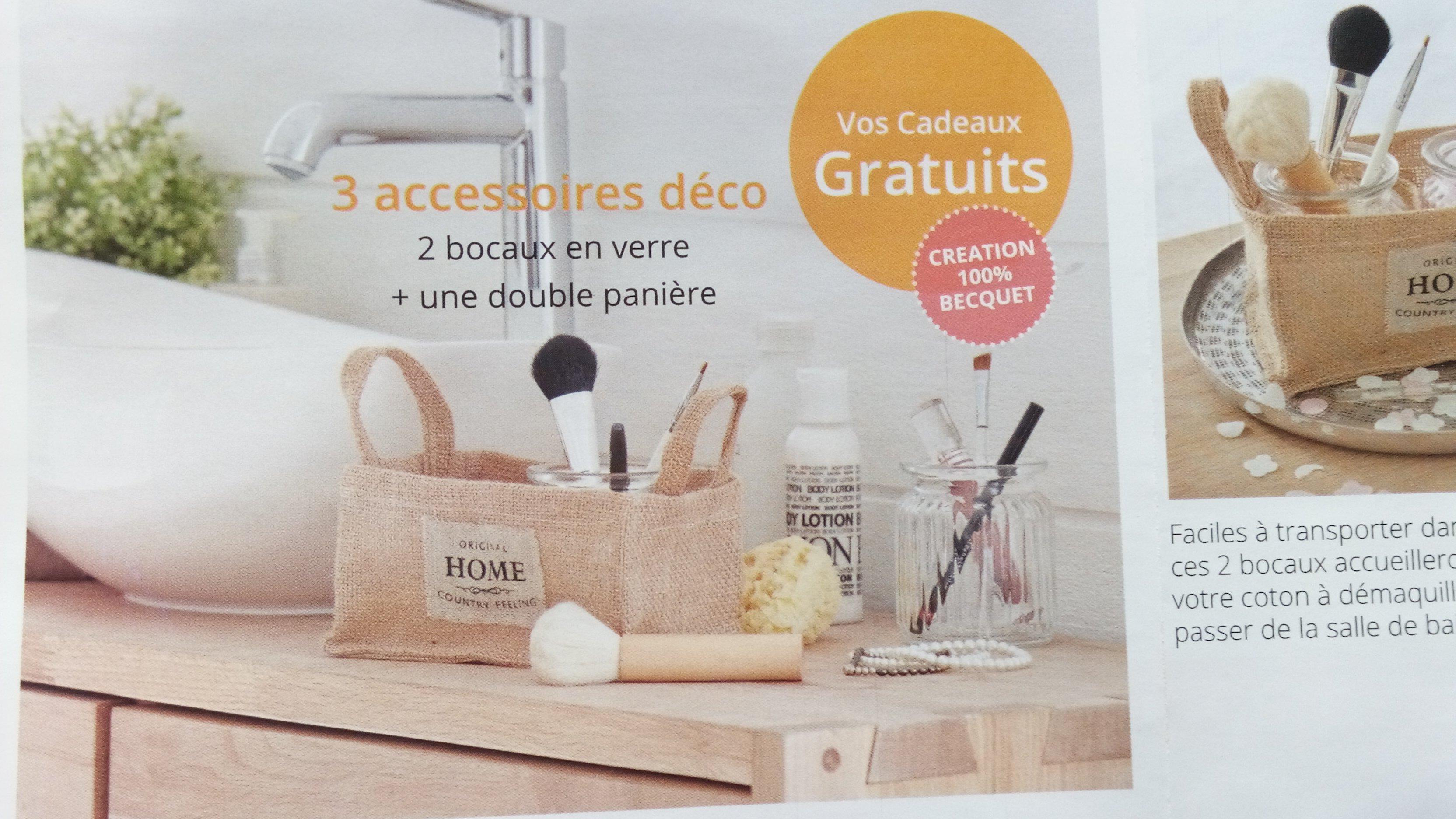 code promo becquet lot de 6 cadeaux serviettes panier et bocaux. Black Bedroom Furniture Sets. Home Design Ideas