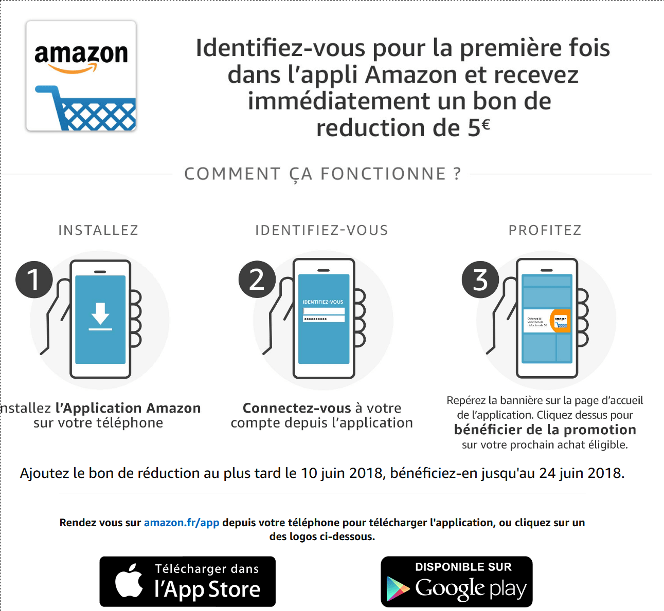 Promotion   5€ offerts avec l application Amazon(1).png