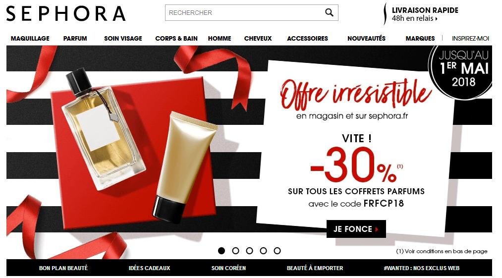 Les Coffrets Code Parfums Sur Réduction Promo 30De Sephora Tous vmNn80Ow