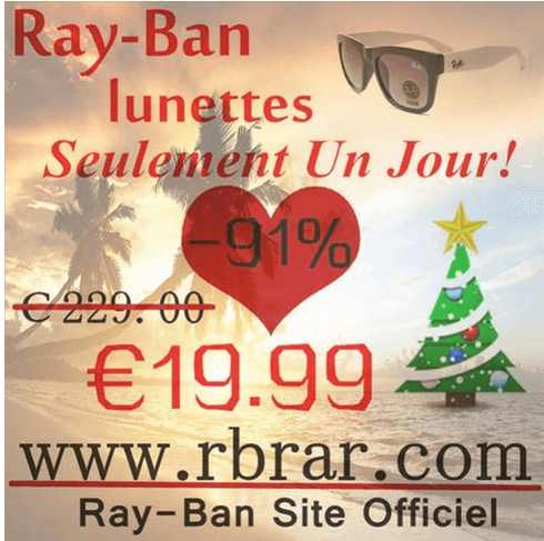 ray ban for 19.99