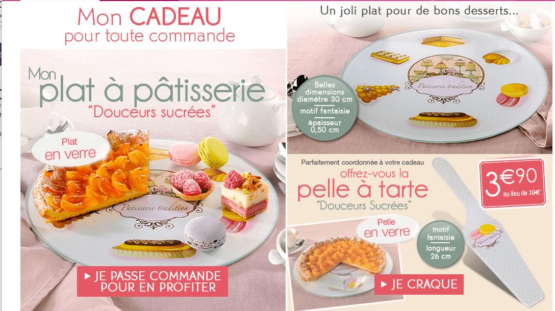 Fran oise saget livraison gratuite partir de 15 plat p tisserie en cadeau - Catalogus francoise saget linge de maison ...