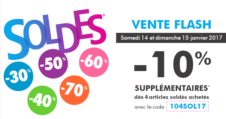 66ecb5962a6 code promo - Gémo soldes -10% supplémentaires 4 articles weekend 15 ...