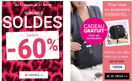 Code promo helline sac bandouli re en cadeau fdp gratuits sans minimum - Code promo 3 suisses frais de port gratuit ...
