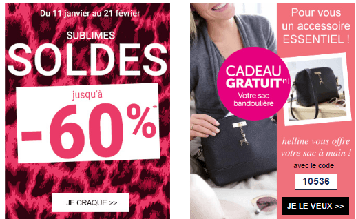 Code promo helline sac bandouli re en cadeau fdp - Code reduc showroomprive frais de port ...