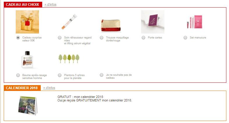code promo yves rocher : 3 cadeau + livraison 0 en offre
