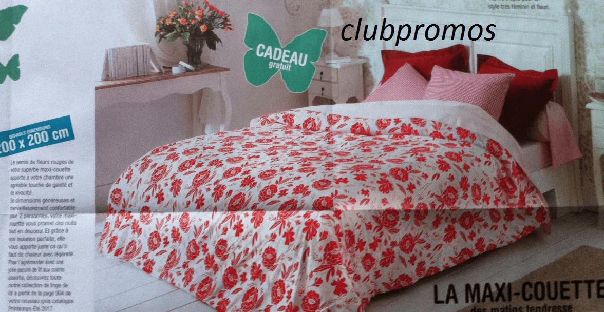Code promo blancheporte 11 20 maxi couette fleurie - Code promo blanche porte frais de port gratuit ...