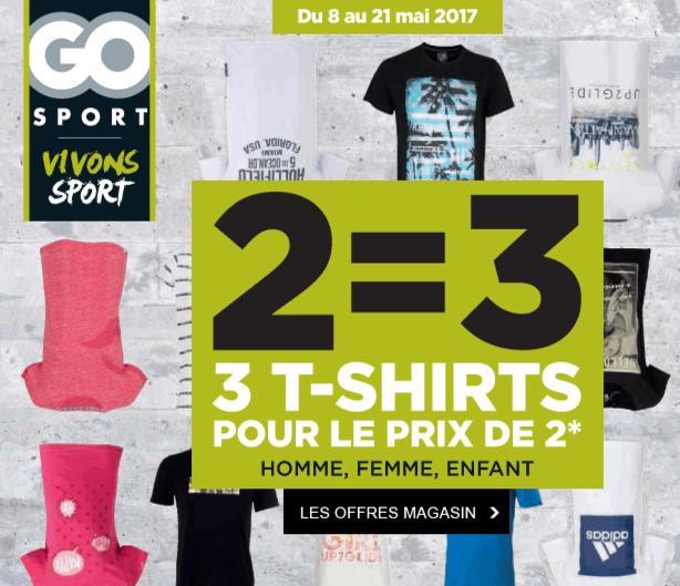 T Magasin 3eme le Go Achetés Shirts Sport2 OffertEn BeoCWrdQx