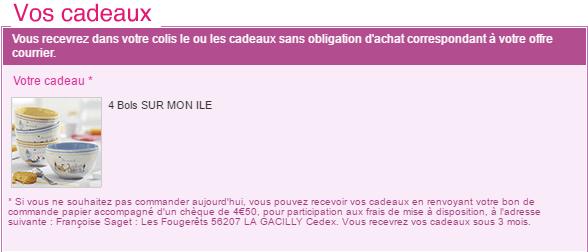 Code promo 4 bols sur mon le en offre courrier fran oise saget fdp 0 - Code promo 3 suisses frais de port gratuit ...