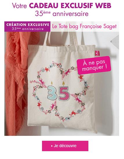 Soldes jusqu 39 60 tote bag fran oise saget en cadeau - Catalogue francoise saget soldes ...