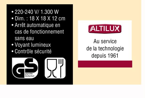 code promo bouilloire altilux 6 99 offre cadeau vitrine magique. Black Bedroom Furniture Sets. Home Design Ideas