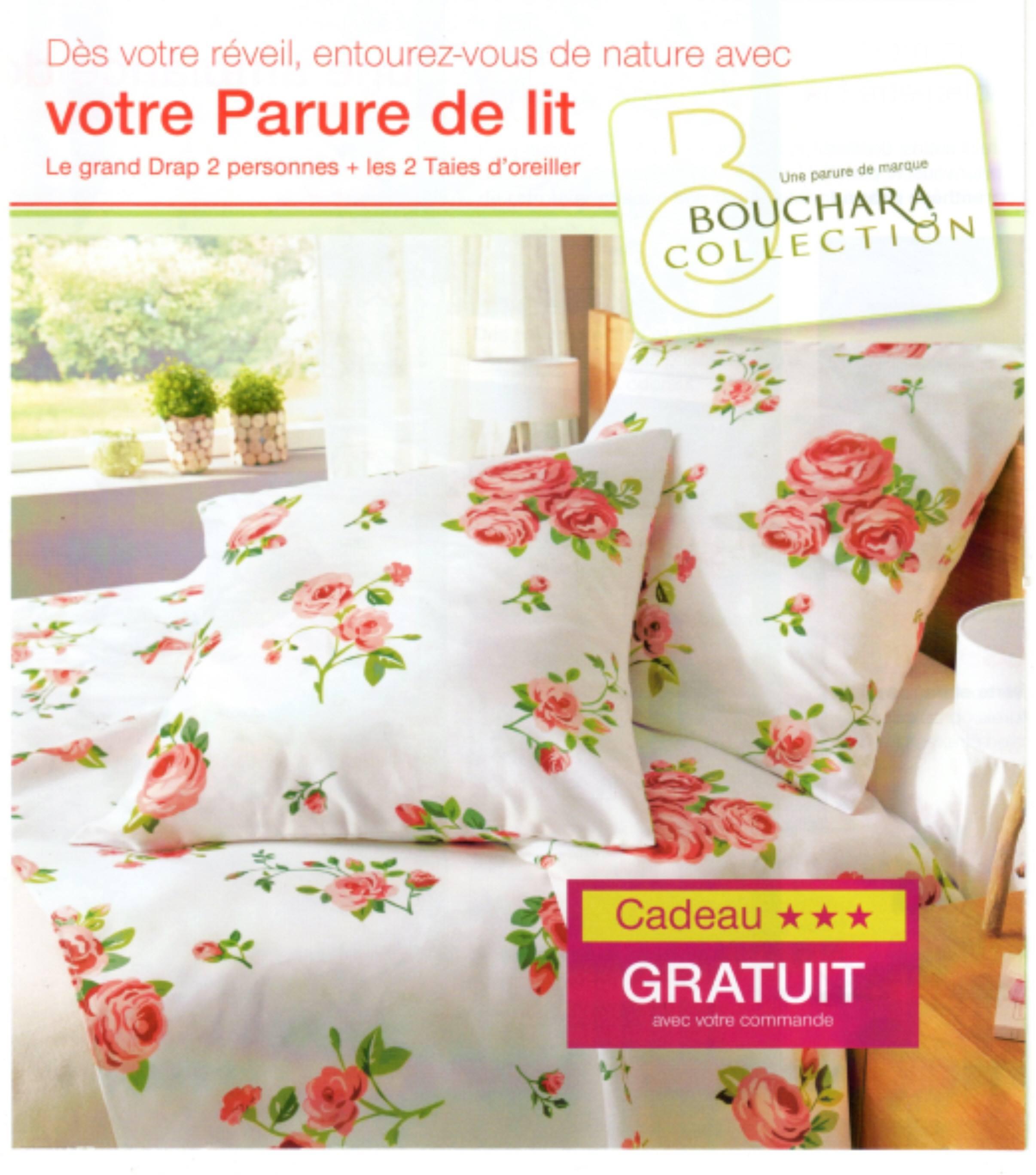 damart cadeau parure de lit bouchara 40 sur votre 1er article fpp. Black Bedroom Furniture Sets. Home Design Ideas