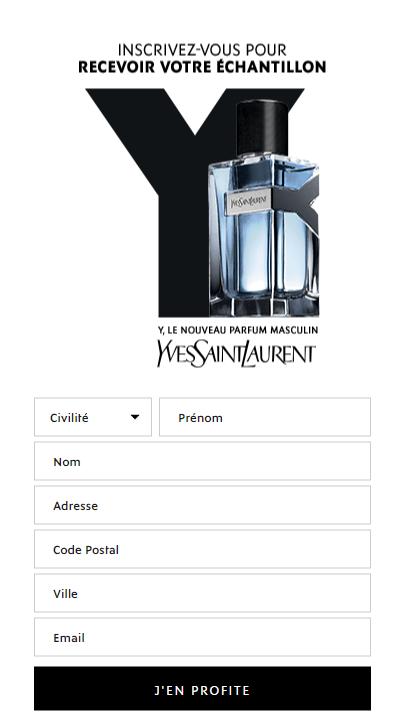 Yves Homme Gratuit Saint De Y Parfum Hcstqxrd Laurent Echantillon CtQxsrhd